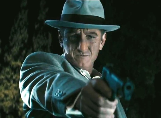 Sean Penn as Mickey Cohen.