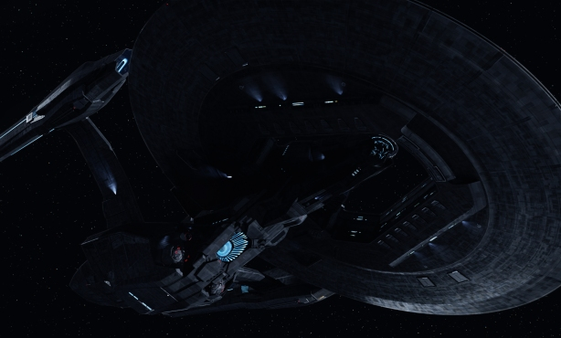 I decided to upload this image of USS Vengeance in full size because oh my god