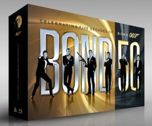 You're not a real film fan unless you own all the James Bond films, so sort yourself out.