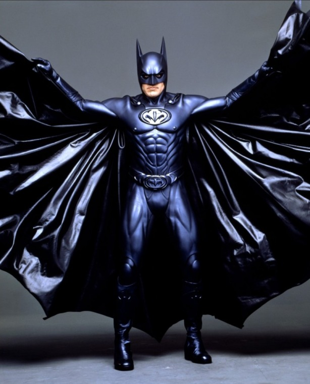 What on earth lead to Batman striking this pose exactly?