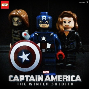 winter soldier lego poster